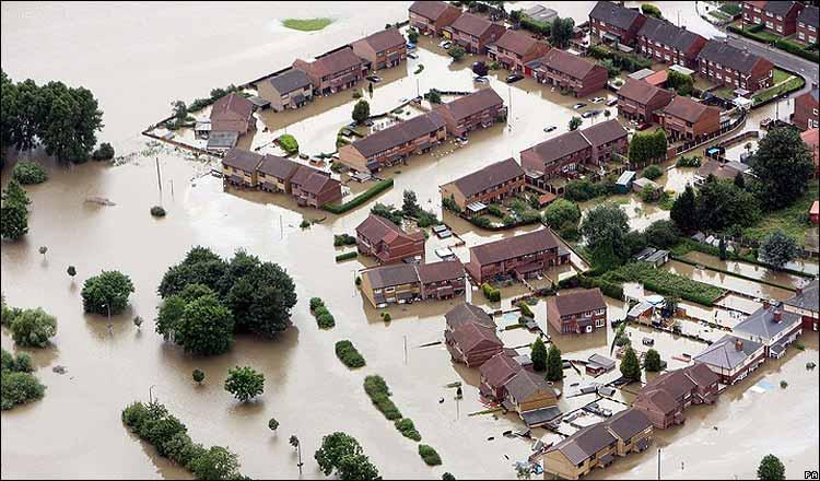 flooding across England