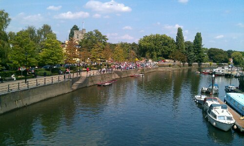 River Thames, at Twickenham